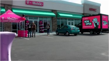 t mobile led truck ad